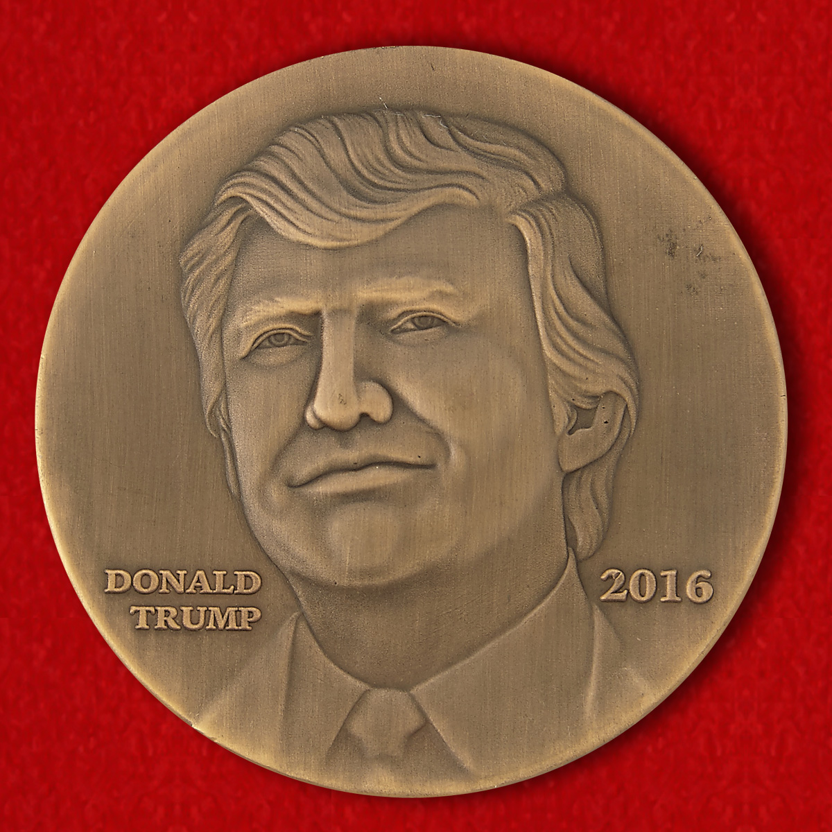 "Challenge Coin ""Donald Trump"""