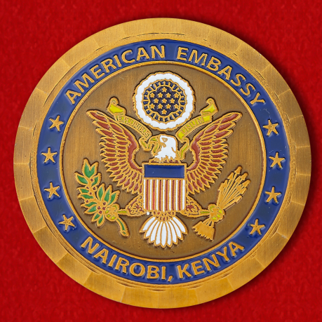 "Challenge Coin ""Embassy of the United States, Nairobi"""