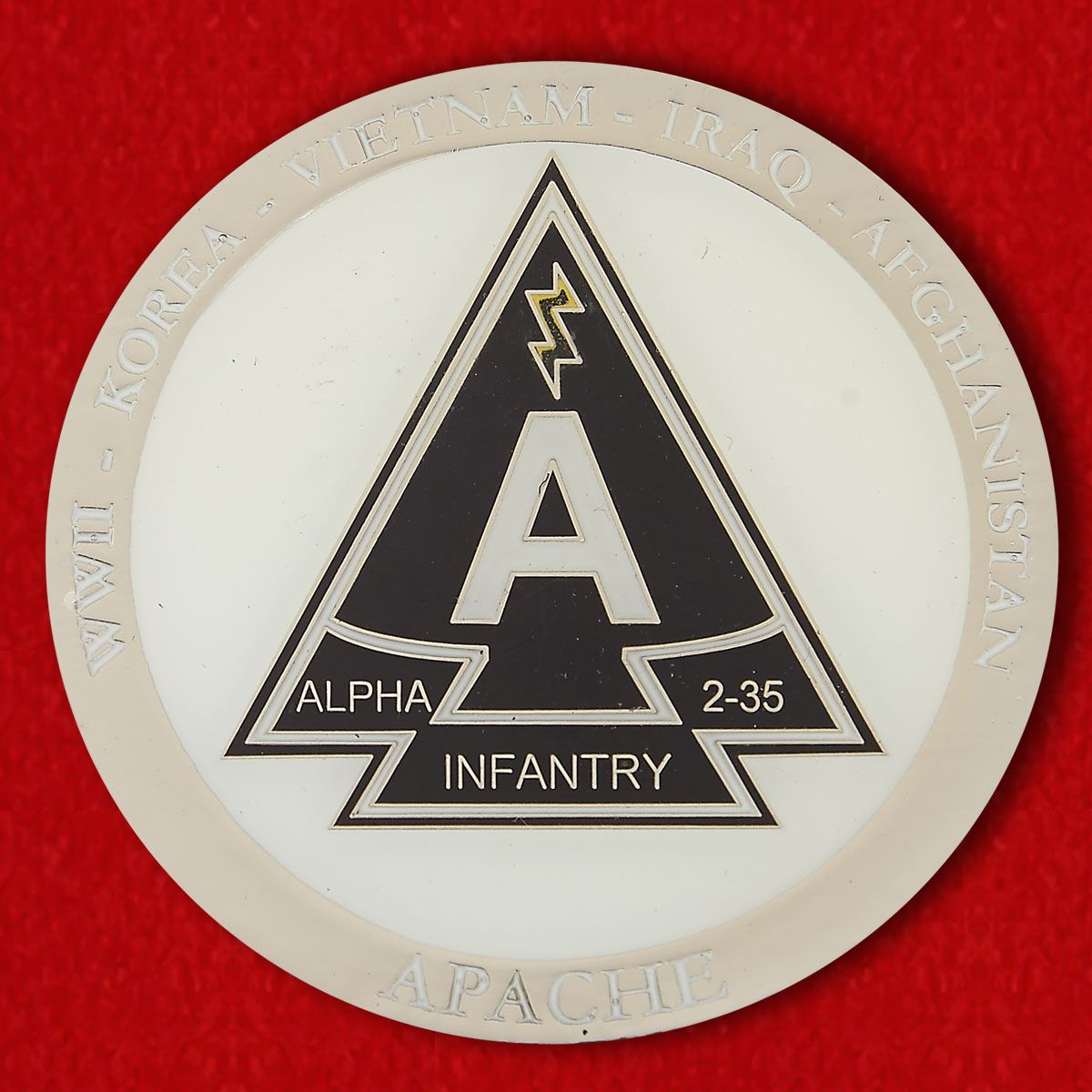 Challenge Coin Group Alpha 2nd Battalion, 35th Infantry Regiment