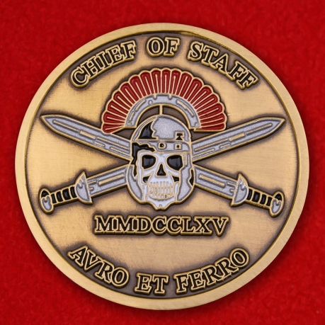 """Challenge Coin """"ISAF special operations force headquarters"""""""