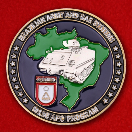 "Challenge Coin ""M113 Armored Personnel Carrier"""