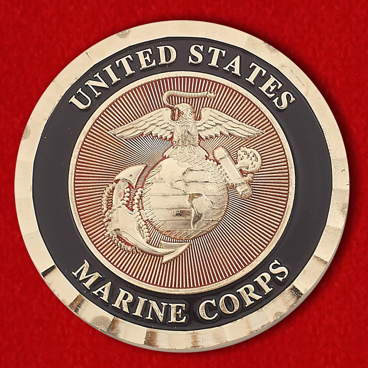 "Challenge Coin ""Marine Wing Support Squadron 471"""