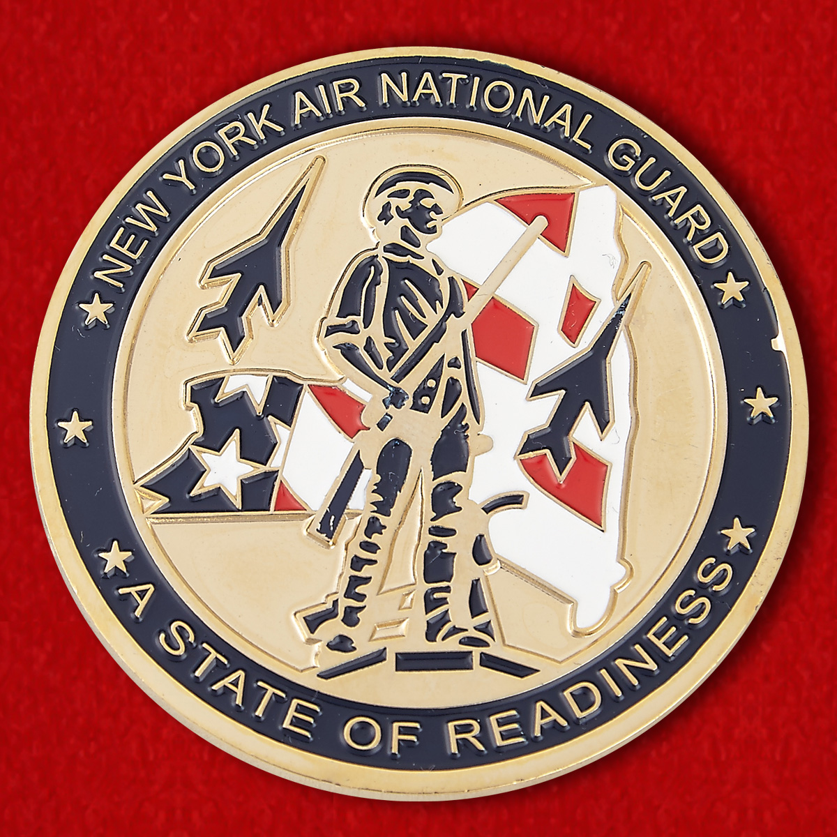 "Challenge Coin ""New York AIR National Guard"""