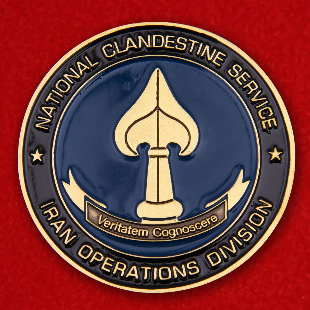 "Challenge Coin ""National clandestine service Iran operation division"""