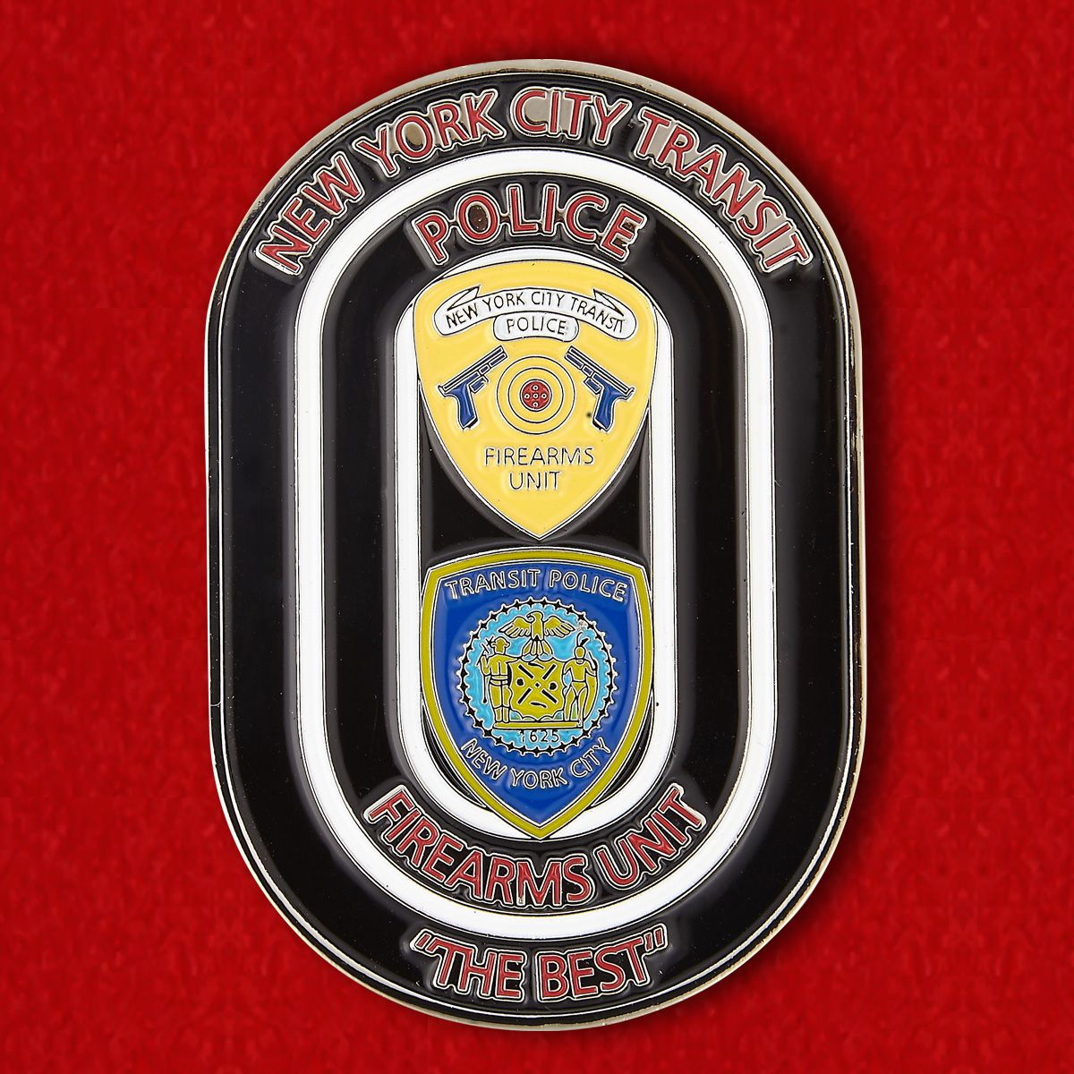 Challenge coin of the Department of Urban Transport New York City Police