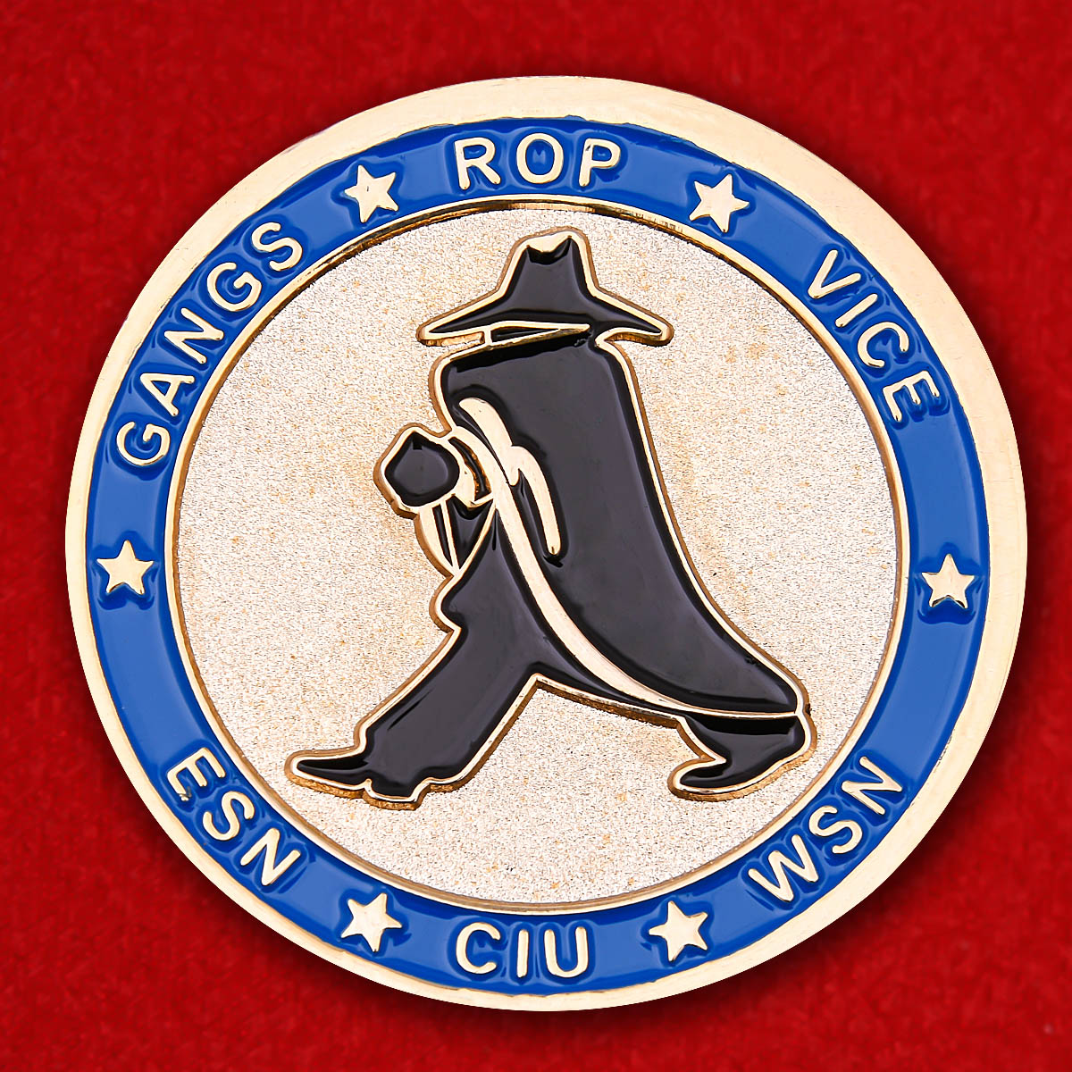 "Challenge Coin ""Police Detective Albuquerque"""