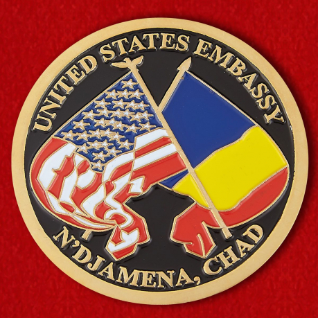 "Challenge Coin ""The US Embassy in N"