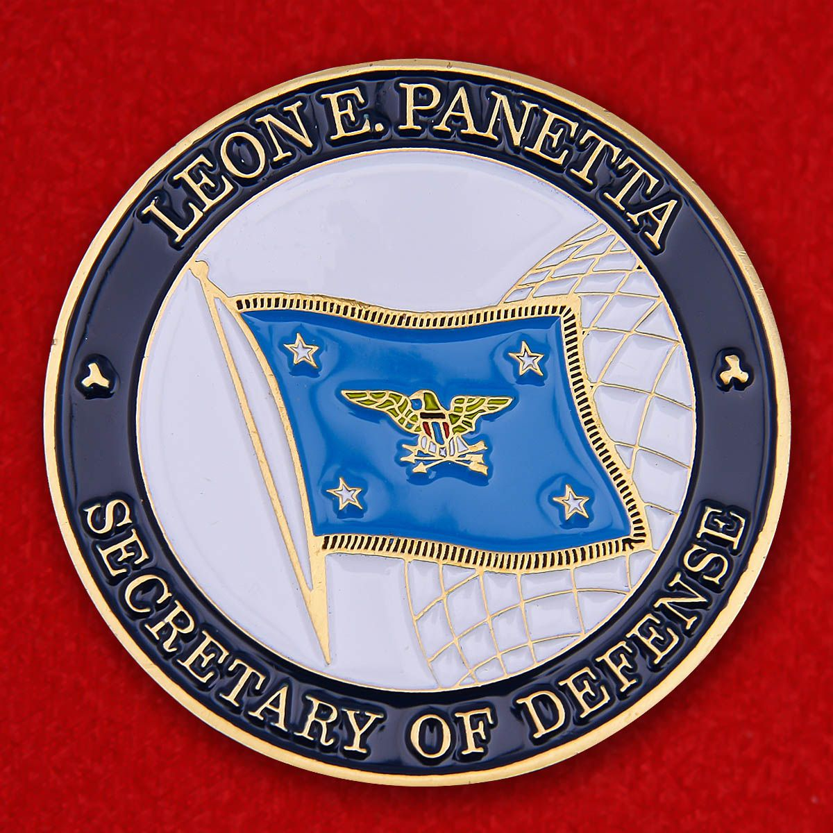 "Challenge Coin ""US State Department Secretary Leon Panetta"""