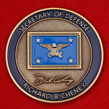 Challenge Coin US State Department Secretary Richard Cheney