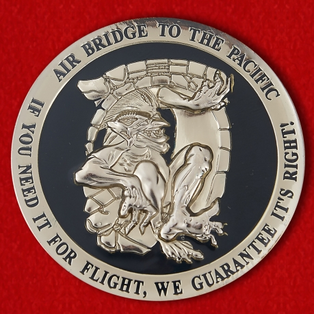 "Challenge Coins ""15th Operations Support Squadron"""
