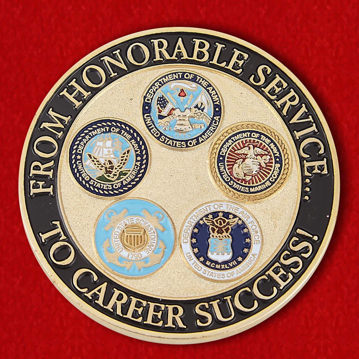 "Challenge Coin ""Military Student Center"
