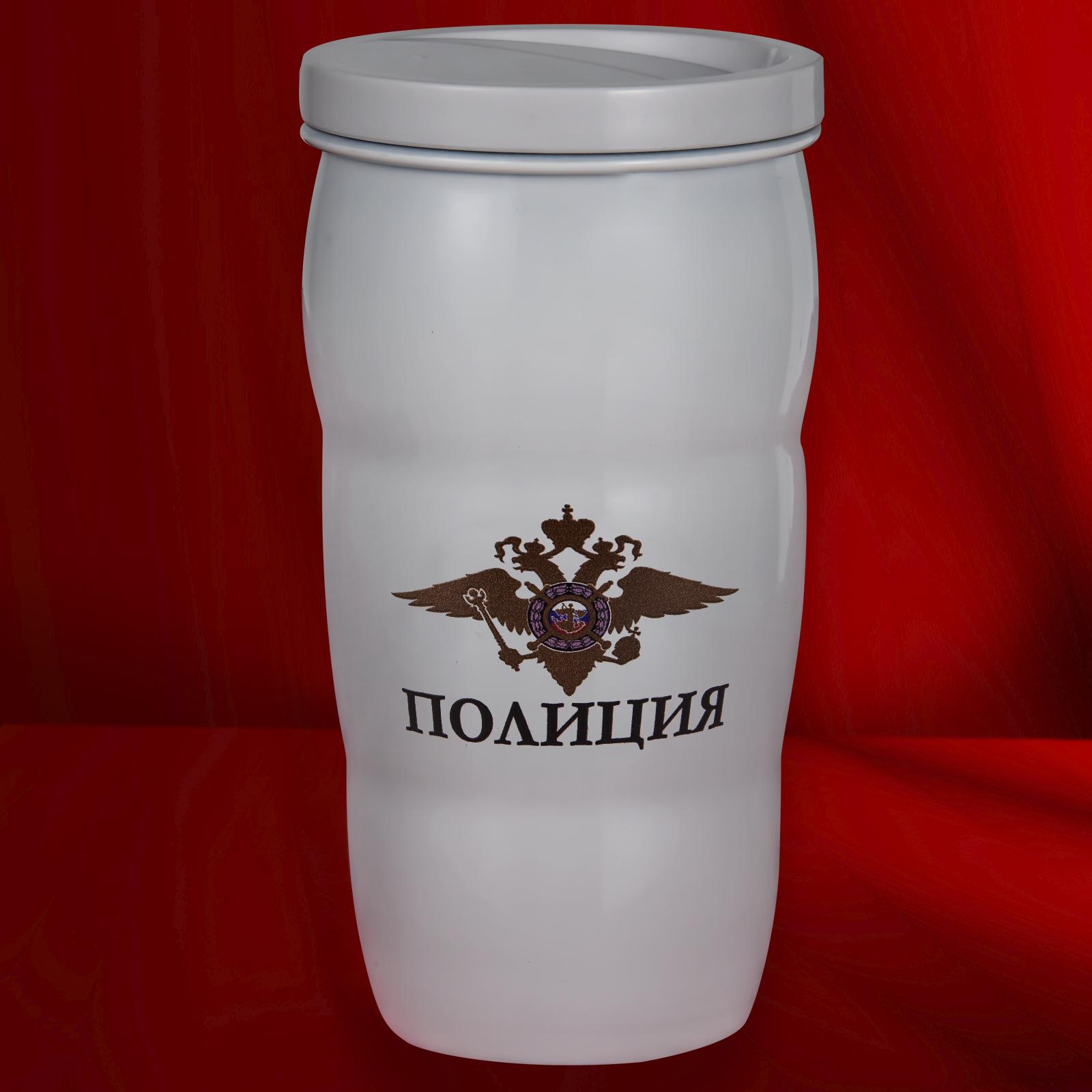 Чашка-термос Полиция