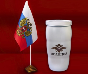 Чашка-термос как у Путина Полиция