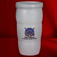 Чашка-термос Ветеран боевых действий