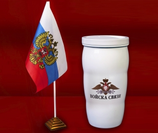 Чашка-термос как у Путина Войска связи
