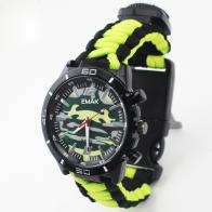 Часы EMAK с многофункциональным браслетом выживания