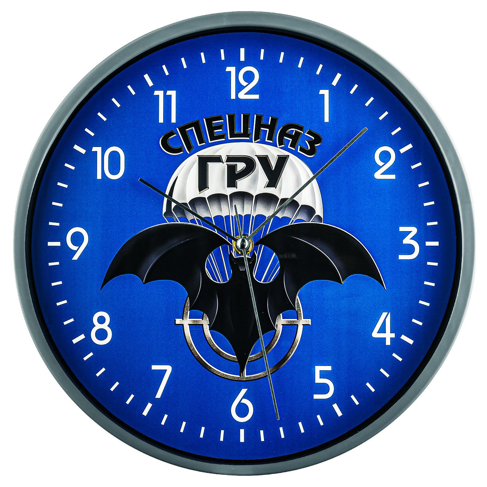 Купить часы настенные с символикой Спецназа ГРУ