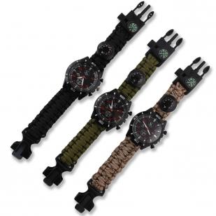 Часы с браслетом из паракорда