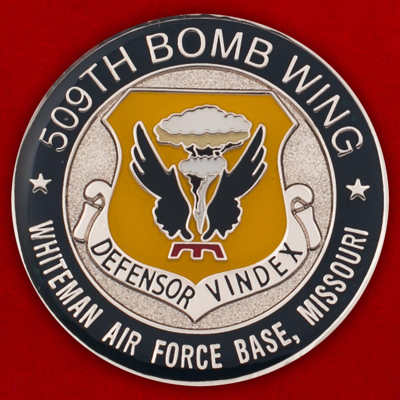 Челлендж коин 509-го крыла стратегических бомбардировщиков