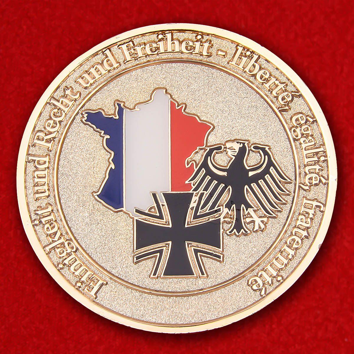 Челендж коин военного атташе при посольстве Германии в Париже