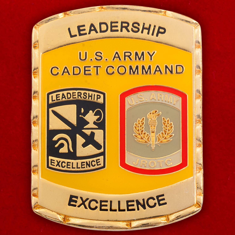 Челлендж коин участников программы школы по вневойсковой подготовке младших офицеров Армии США