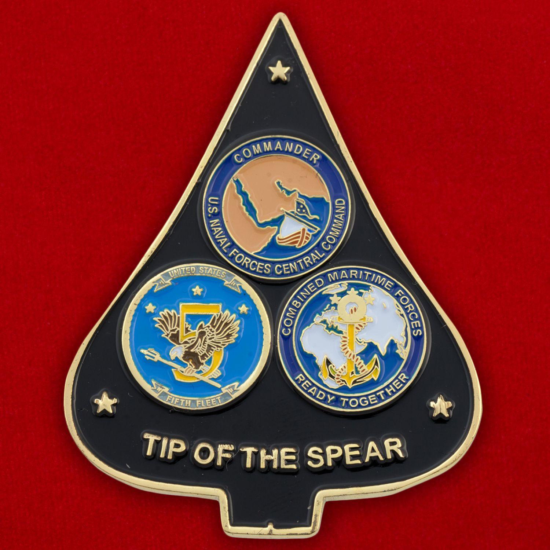 Челлендж коин Военно-морских сил США