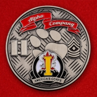 I America's Corps Alpha Company Challenge Coin
