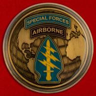 Челлендж коин 1-го десантного полка специальных операций ВС США