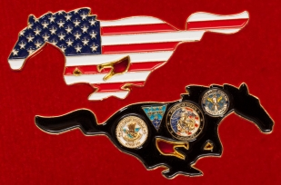 Челлендж коин 1-й авианосной ударной группы ВМС США