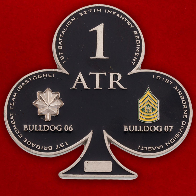 Челлендж коин 1-й Бригадной Тактической группы 101-й Дивизии ВДВ США