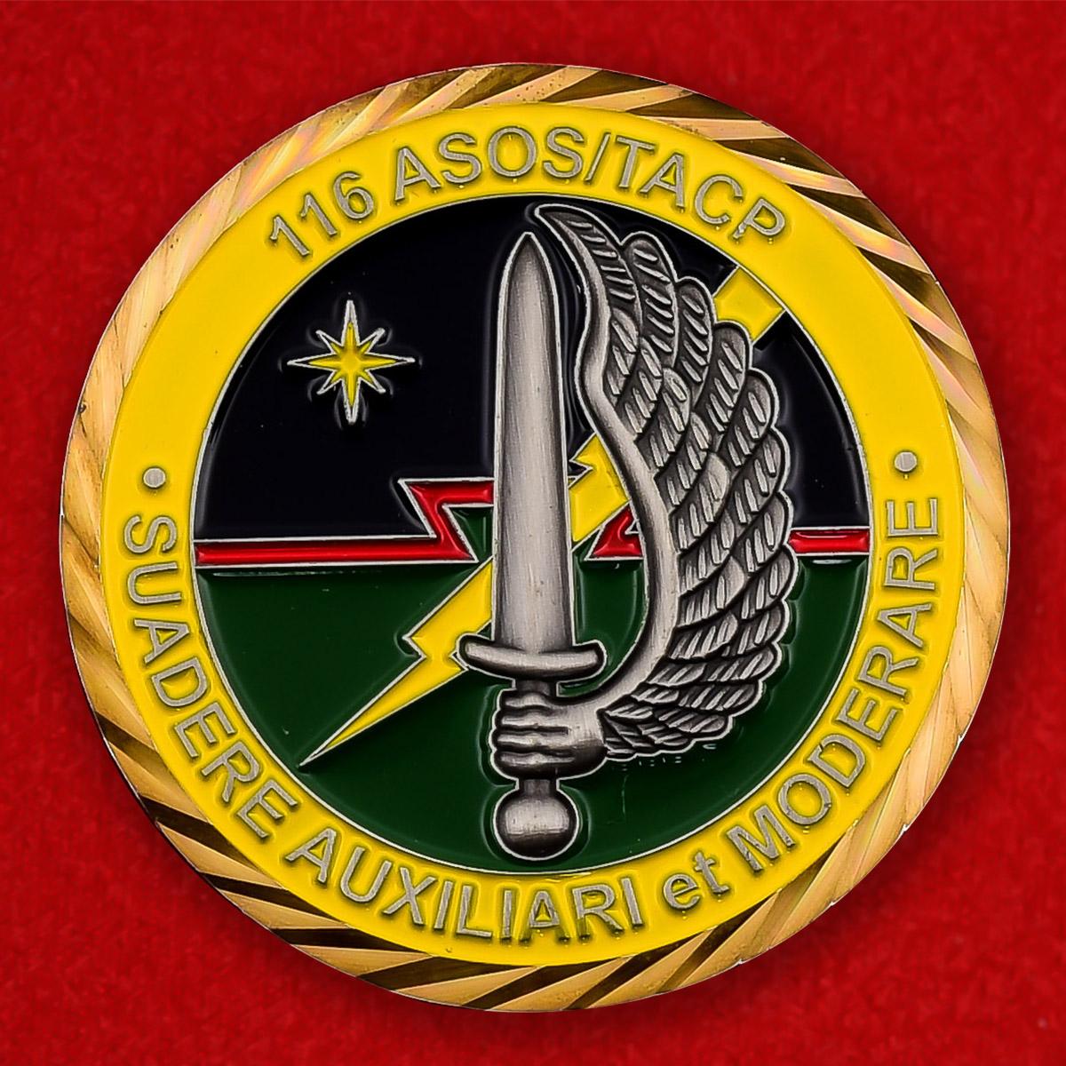 Челлендж коин 116-й эскадрильи ВВС Национальной Гвардии США