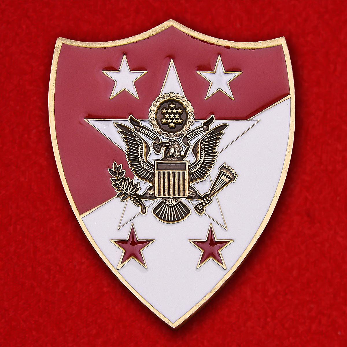 """Челлендж коин """"12-му главному сержанту Сухопутных войск Армии США от Джека Тилли"""""""