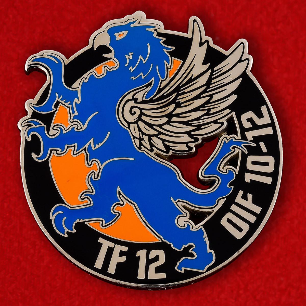 Челлендж коин 12-ой авиационной бригады