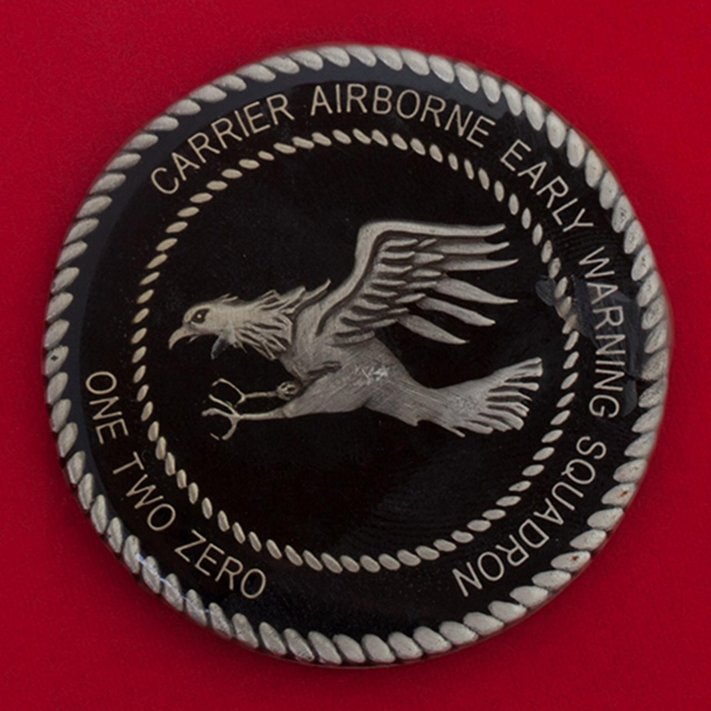Челлендж коин 120-й эскадрильи палубной авиации ДРЛО ВМС США
