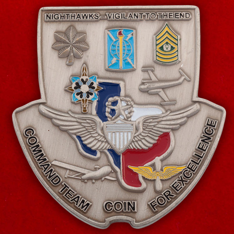 Челлендж коин 15-го батальона Военной разведки Армии США