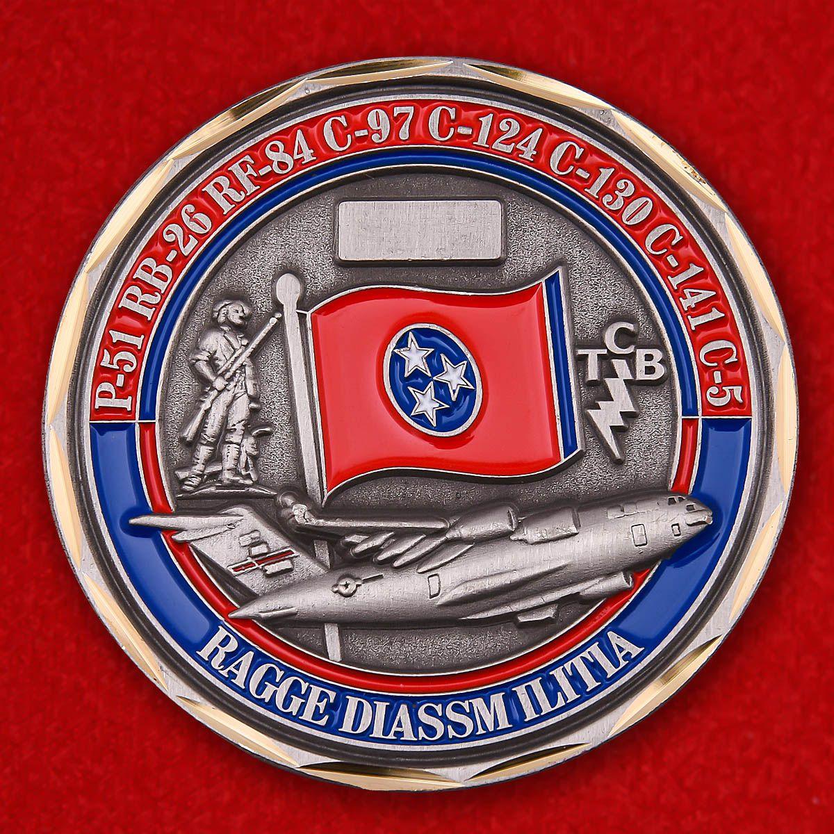 Челлендж коин 155-й эскадрильи транспортной авиации