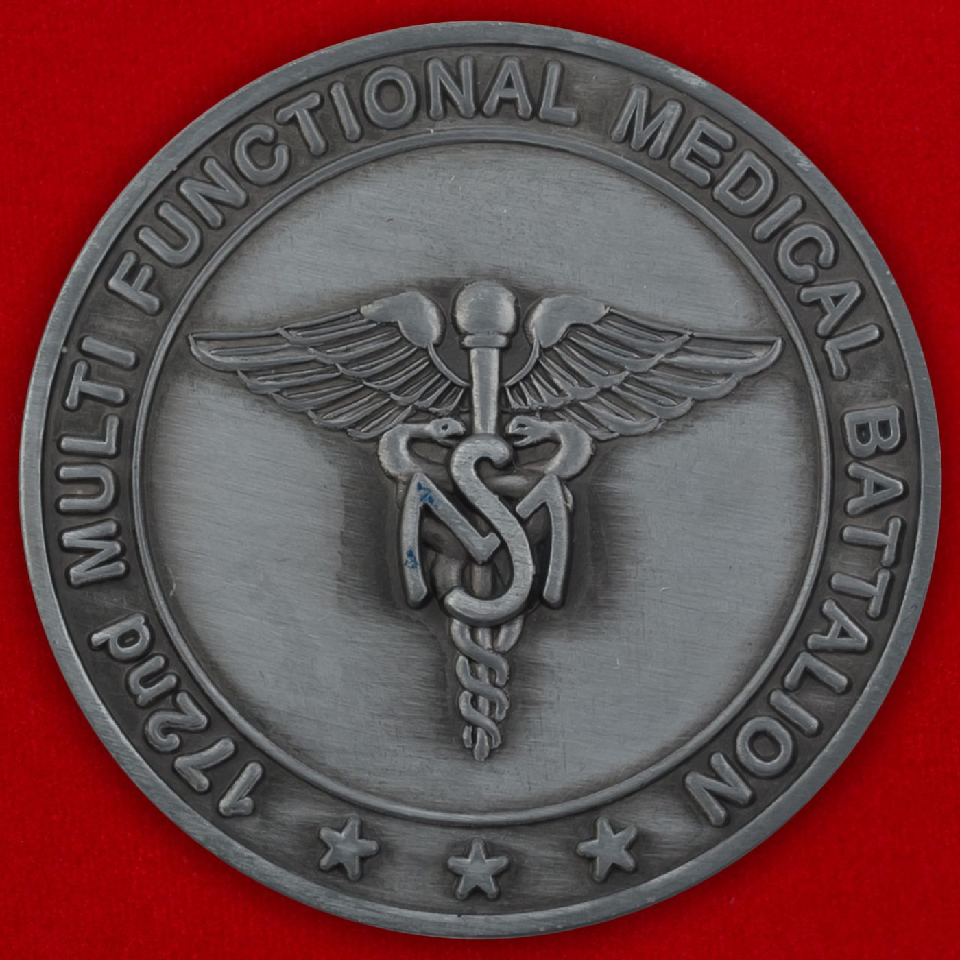Челлендж коин 172-го Медицинского батальона