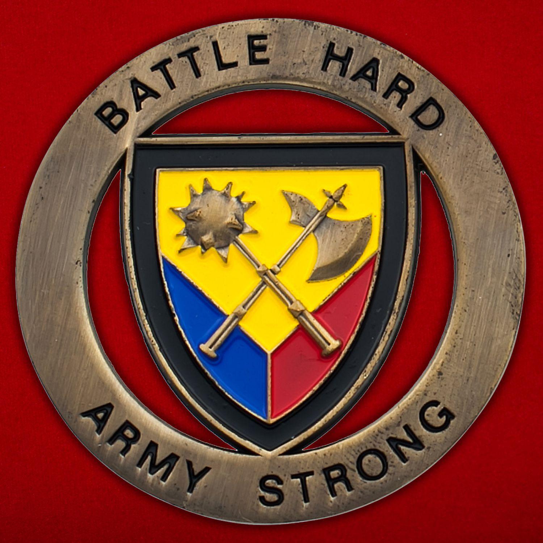 Челлендж коин 194-й бронетанковой бригады Армии США