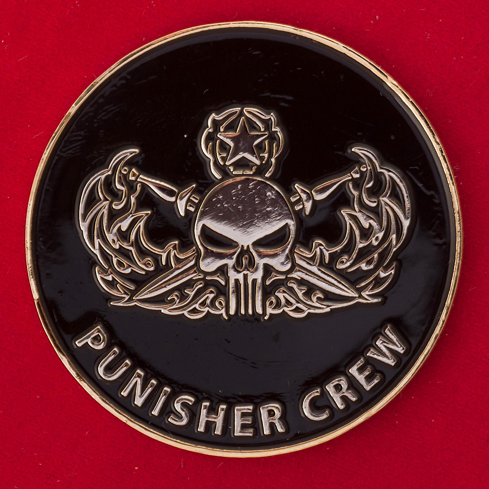 Челлендж коин 2-го мобильного саперного отряда ВМС США