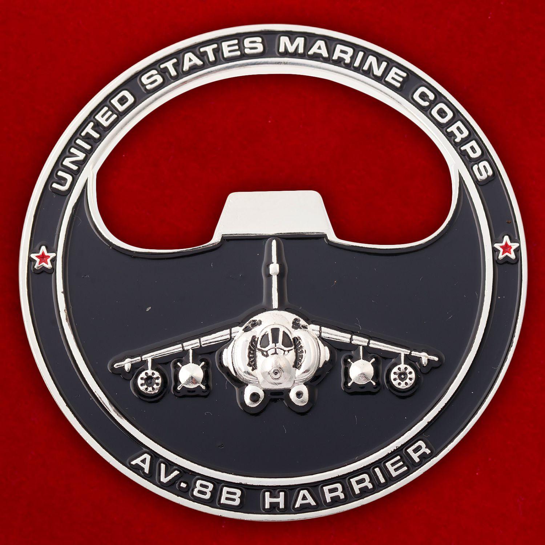"""Челлендж коин """"223-я эскадрилья поддержки с воздуха Корпуса Морской пехоты США"""""""