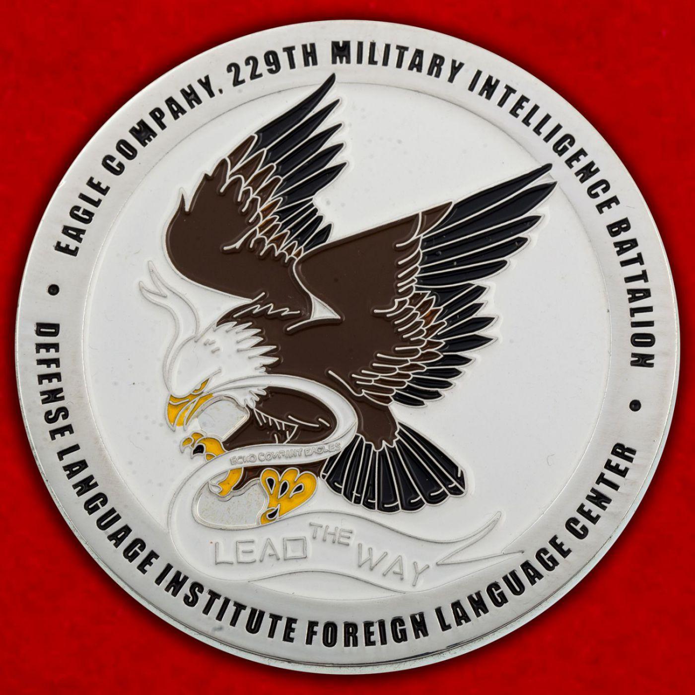 Челлендж коин 229-го батальона Военной разведки Армии США