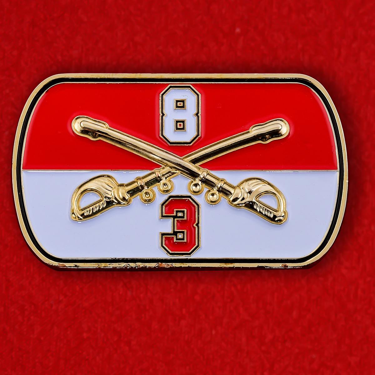 "Челлендж коин 3-го батальона 8-го Кавалерийского полка ""Warhorse"""