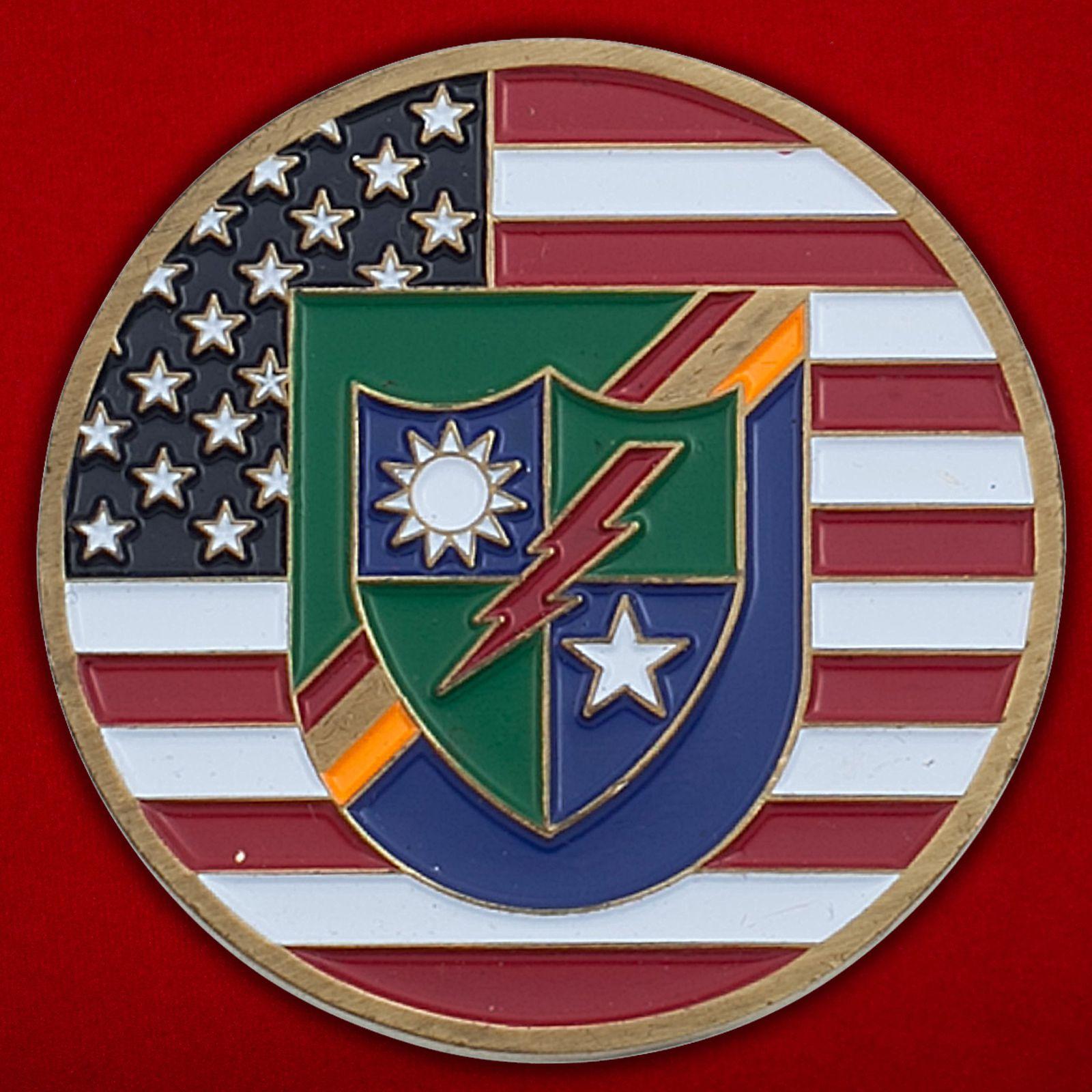 Челлендж коин 3-го батальона рейнджеров