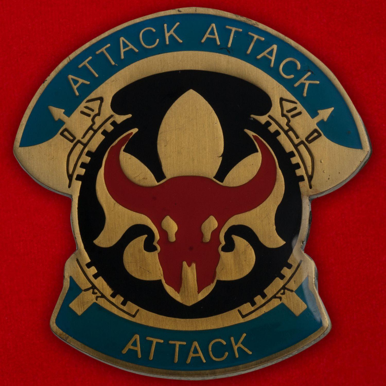 Челлендж коин 34-й Пехотной дивизии Армии США
