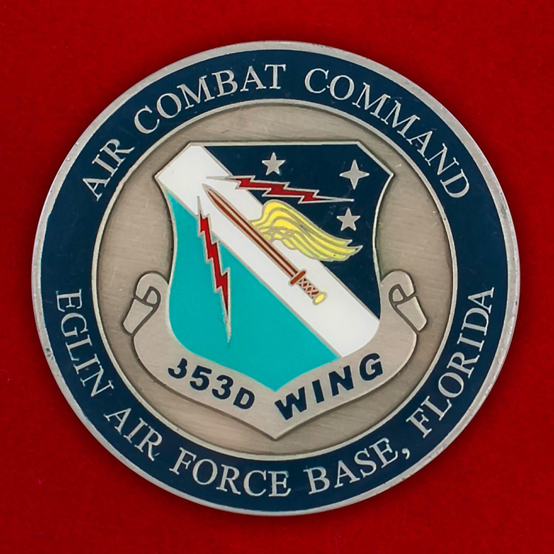 Челлендж коин 353-го авиакрыла специальных операций
