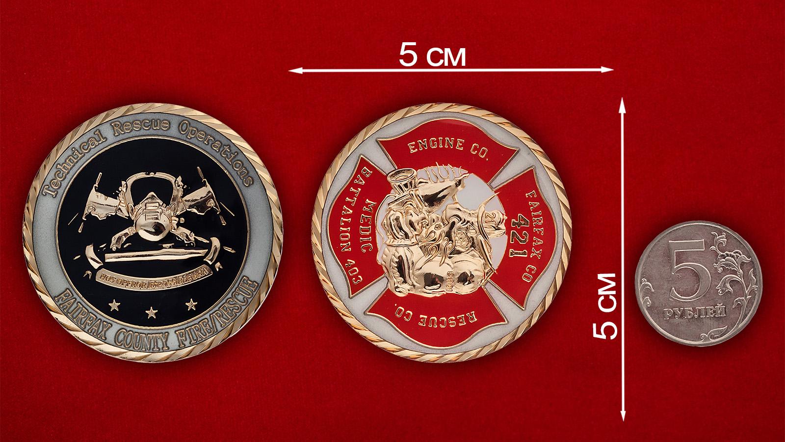 """Челлендж коин """"403-й медицинский батальон спасательных операций на промышленных объектах"""""""