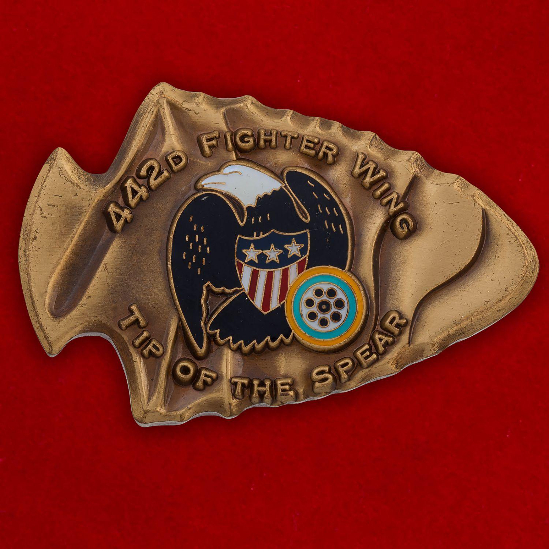 Челлендж коин 422-го Истребительного авиакрыла ВВС США