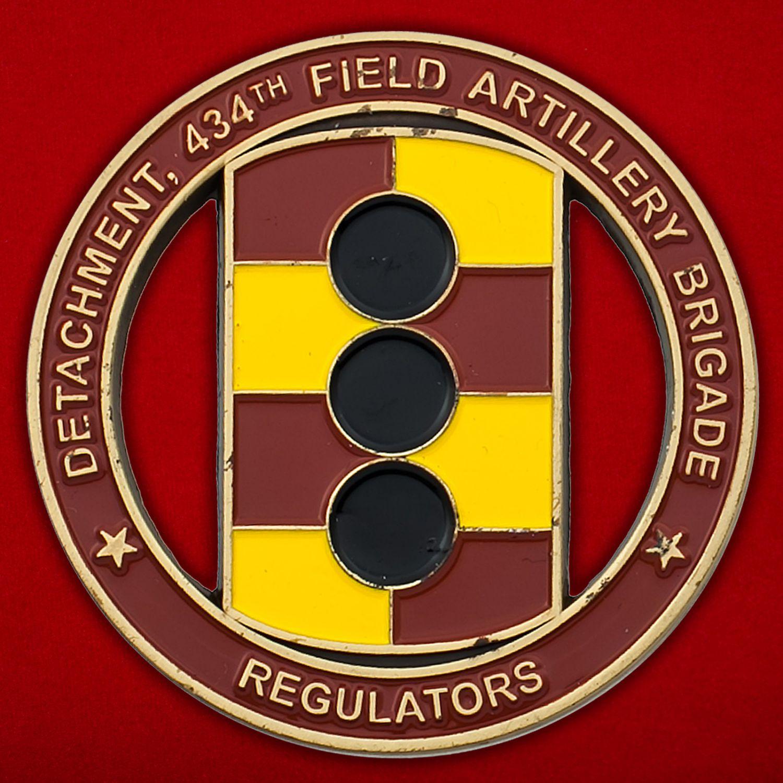 Челлендж коин 434-й бригады полевой артиллерии Армии США