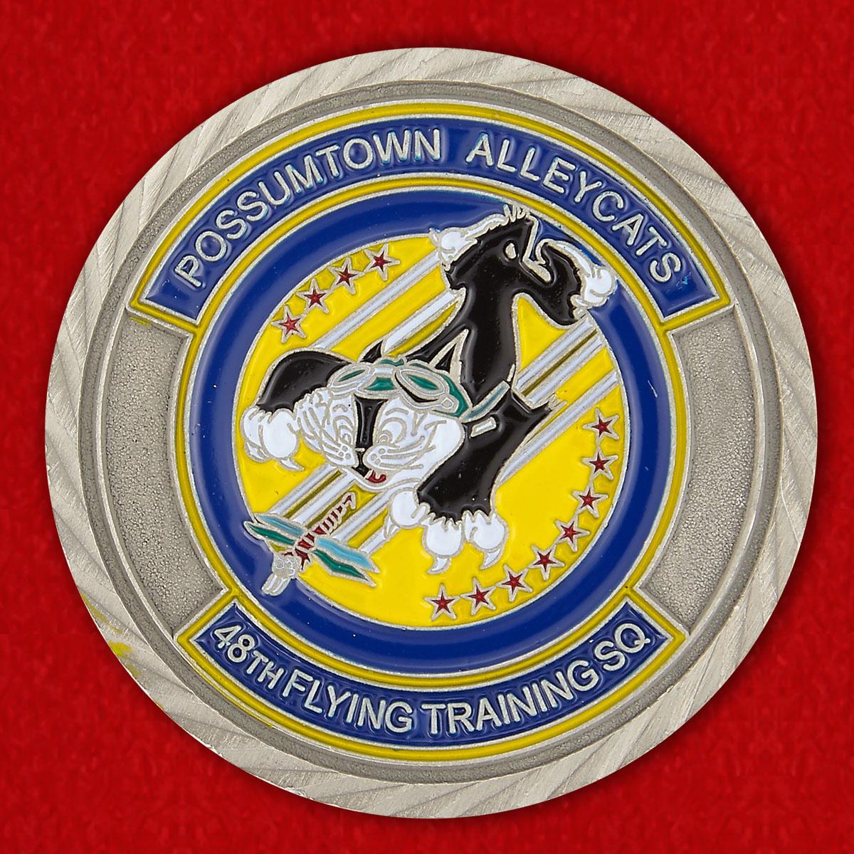 Челлендж коин 48-й Учебной эскадрильи