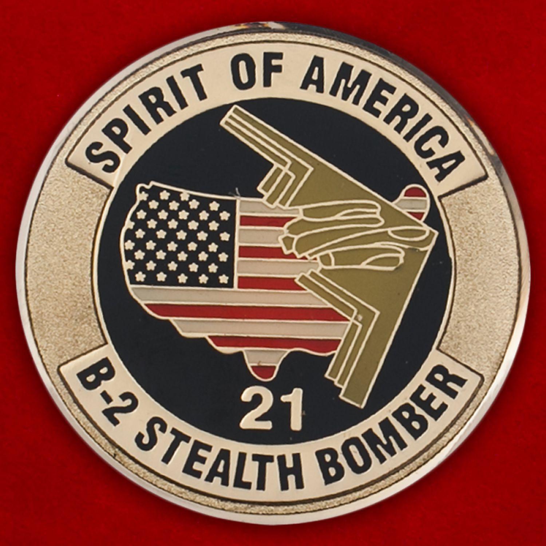 Челлендж коин 509-крыла стратегических бомбардировщиков ВВС США